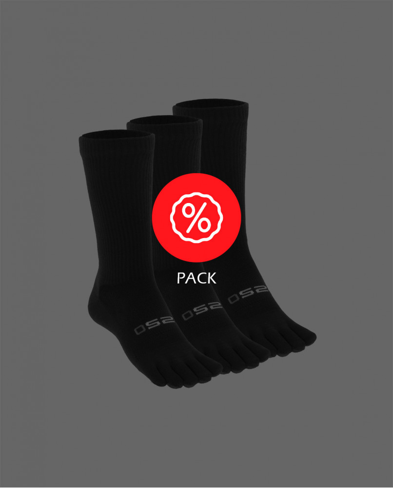 Pack x3 Calcetines dedos ULTRA