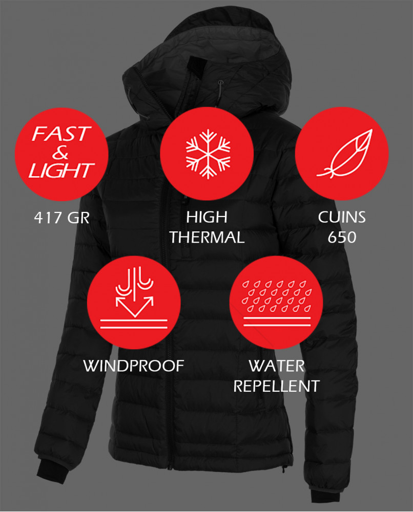 Fastlite 650 Down Woman Jacket