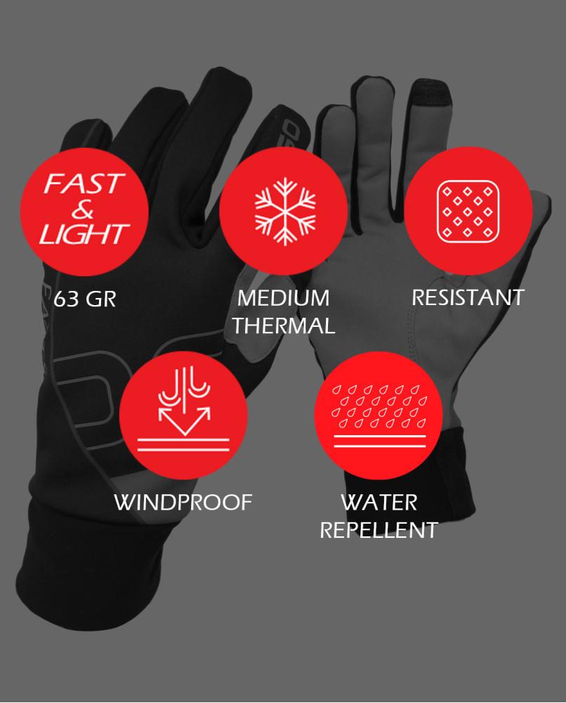 EVO StretchShell Gloves