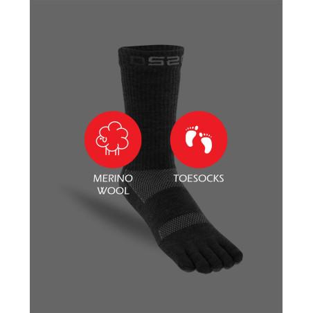 Merino wool 5-toe socks [EN]
