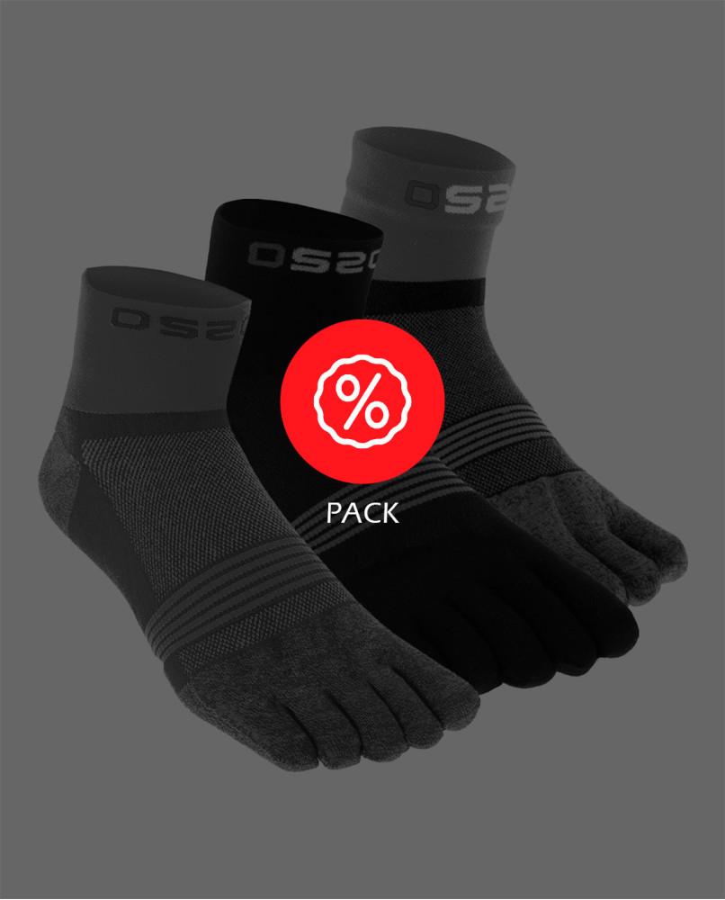 Pack x3 Toesocks TRAIL...