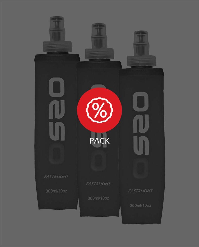 Softflask 300ml x3