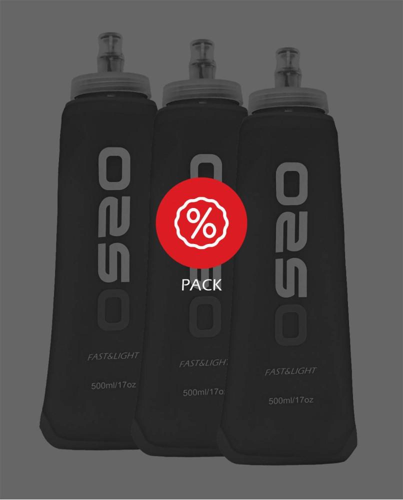 Softflask 500ml x3