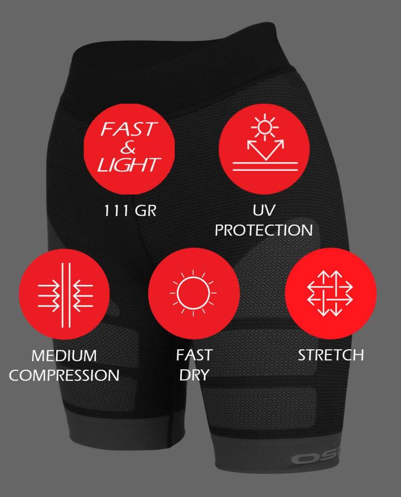 Trail Compression Shorts Woman