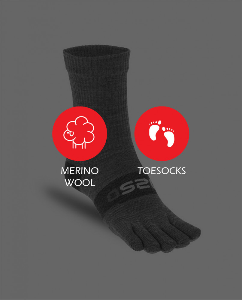 Merino Wool Toesocks