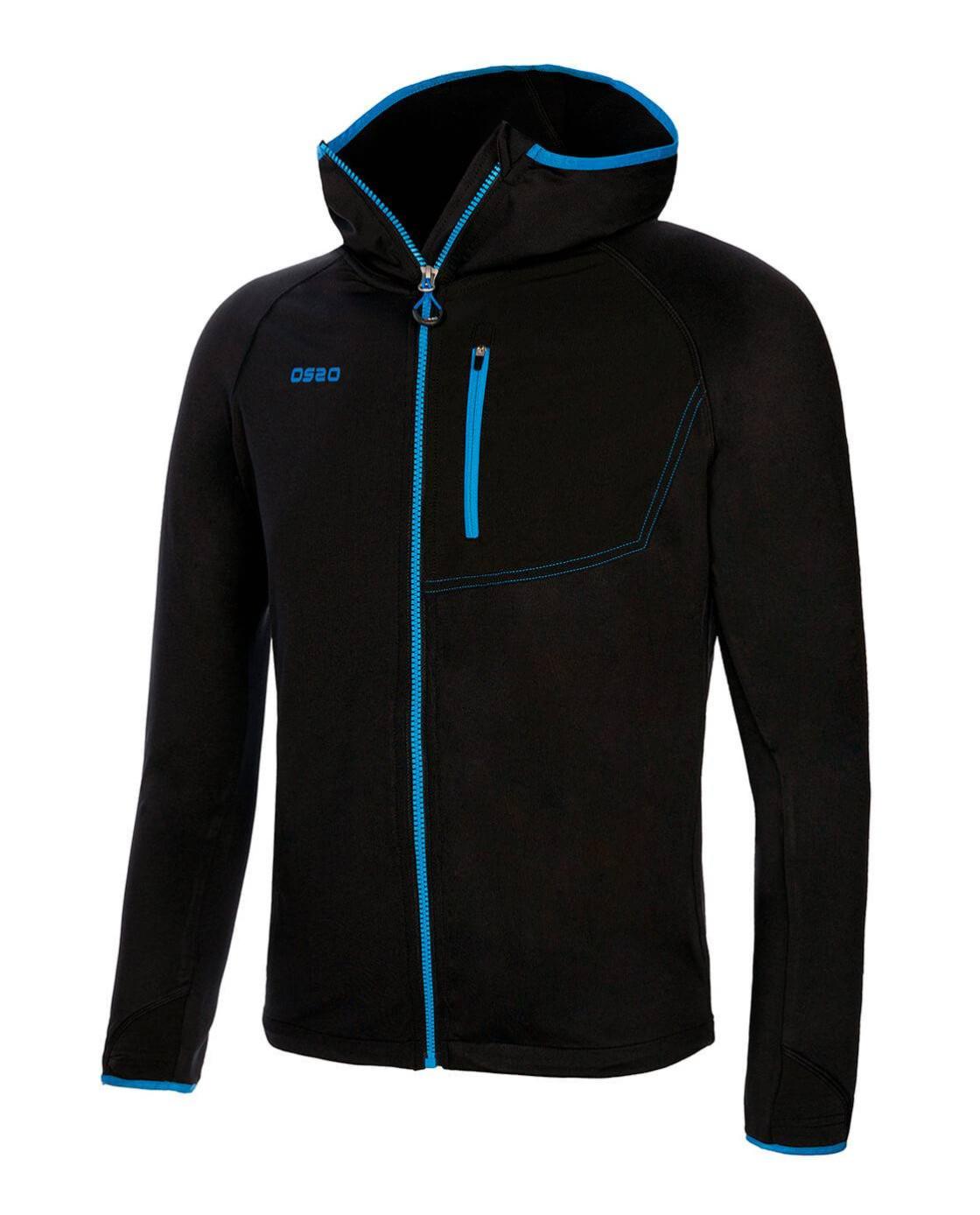 Ace Jacket Negro Frontal