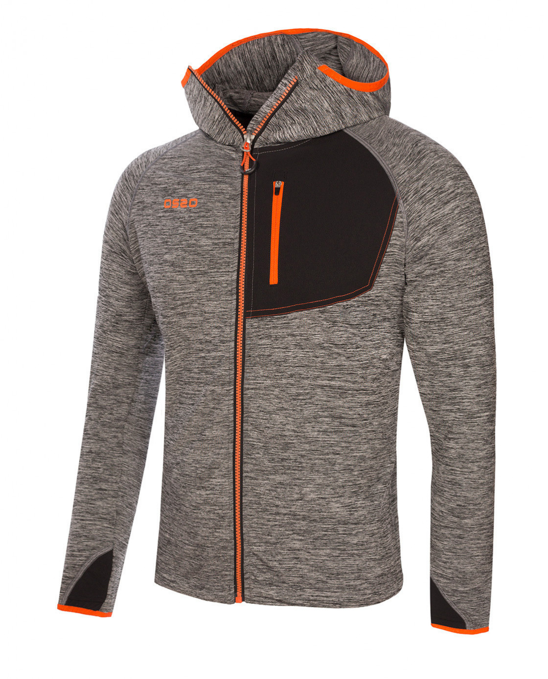 Ace Jacket Gris Frontal