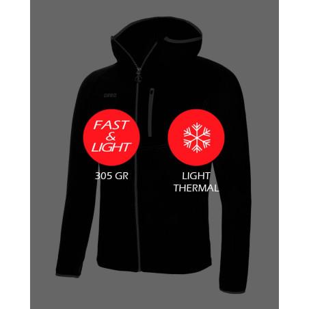 Ace Jacket Negro Características